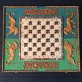 Большие шахматы 3в1 из дерева ручной работы, эксклюзивный подарок, арт. НШ-012