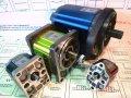 The hydraulic pump is gear