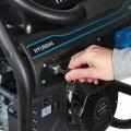 Генератор бензиновый Hyundai HHY 7050FE