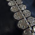 MS 35 шарнирные винтовые механические соединители для стыковки конвейерных лент толщиной от 4,5 до 10 мм прочностью до 450 Н/мм