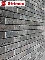 """Навесной ВентФасад """"StrimROCK"""" на алюминиевой подсистеме с декоративным камнем Лондон Брик"""