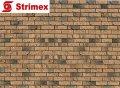 """Навесной ВентФасад """"StrimROCK"""" на алюминиевой подсистеме с декоративным камнем Бремен Брик"""