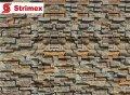 """Навесной Вентилируемый Фасад """"StrimROCK"""" на алюминиевой подсистеме с декоративным камнем Уайт Клиффс"""