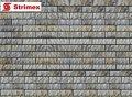"""Навесной Вентилируемый Фасад """"StrimROCK"""" на алюминиевой подсистеме с декоративным камнем Толедо"""