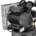 Компрессор 100 л, вертикальный, 3 кВт, 220 В, 10 атм, 500 л/мин, 2 цилиндра INTERTOOL PT-0017