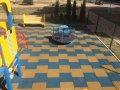 Травмобезпасная резиновая плитка для жилых обьектов