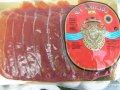 Serrano's jamón, cutting