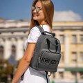 Стильный женский рюкзак KENZO Серый