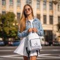 Стильный женский рюкзак Calvin Klein Белый