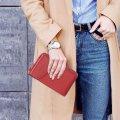 Кошелек - мини сумочка клатч Baellerry Forever Красный
