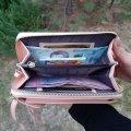 Кошелек - мини сумочка клатч Baellerry Forever Пудровый