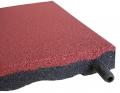 Противоскользящая плитка из резиновой крошки с узорами