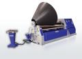 Four-roll hydraulic sheet benders
