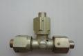 Кислородная система  Соединитель Тройник под трубку 8 мм