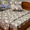 Комплект постельного белья сатин Люкс ТМ Ярослав, sl38, двойной (175х215 см)