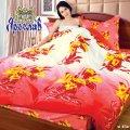 Комплект постельного белья сатин Люкс ТМ Ярослав, sl45a, двойной (175х215 см)