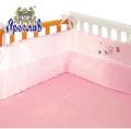 Защита для детской кроватки ТМ Ярослав, Розовый