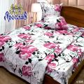 Комплект постельного белья - сатин ТМ Ярослав, s 828, семейный (5-ти предметный)
