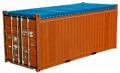 20-футовые контейнеры с открытым верхом open top