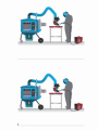 The filter for the easy and average modes of welding and dust removal of Nederman FilterBox 10 M