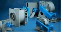 Industrial radial fan of low pressure Combifab
