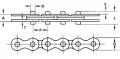 Пластинчатая цепь Tsubaki 50WR - шаг 15.875 mm