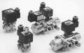 Распределительный электромагнитный клапан прямого/непрямого действия для управления пневмоприводами двухстостороннего действия 4/2-5/2