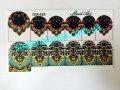 Sticker on nails of Sliders art DM - 424