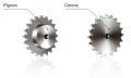 Звездочка Corone двухдисковая под две цепи — DIN 8187 / ISO R606