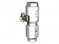 Седельчатый клапан на высокое давление ECD-H 10