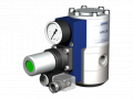 The valve with HPB 08 pneumatic actuator