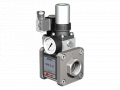 The valve with HPB-S 15 pneumatic actuator