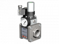 The valve with HPB-H 15 pneumatic actuator