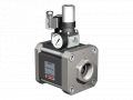 The valve with HPB-N 32 pneumatic actuator