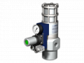 The valve with a pneumatic actuator of HPP-3 15 PC