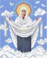 Схема для вышивания Икона Божьей Матери Покрова