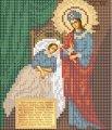 Схема для вышивания Икона Божьей Матери Целительница