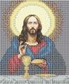 Схема для вышивания Икона Иисус Христос