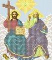 Схема для вышивания Икона Святая Троица