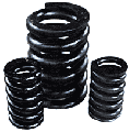 Compression springs and torsions, diameter of a bar are 8 ÷ 50 mm