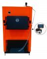 Котел твердотопливный ДТМ ЭКО-М 10 квт с механическим регулятором тяги