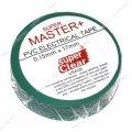 Изолента ПВХ Master 17х0.13мм 17м зеленая 414044