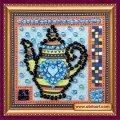 Набор для вышивания бисером  Чайник с желтым AMМ-013