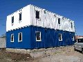 Constructions modular fast-built on the basis of 20-foot containers (Buildings pneumo-modular)