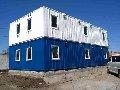 Сооружения модульные быстровозводимые на основе 20-футовых контейнеров (Здания пневмо-модульные)