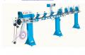 Оборудование для производства жалюзи.  Станки-автоматы серии М-410 предназначены для профилирования, вырезания отверстий, резки жалюзийной алюминиевой ленты шириной 25 мм или 16 мм на требуемую длину