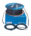 Heating cable for installation in asphalt single-core