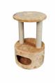 Когтеточка-домик (дряпка) круглый