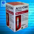 Тест-полоски для глюкометра оригинальные Accu-Chek Performa / Акку-Чек Перформа 50 шт.