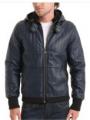 Куртки кожаные мужские и женские по доступным ценам - Кожаная мужская куртка P.Vorte Leather Studio - Stingray jacket (Стингрей), Киев